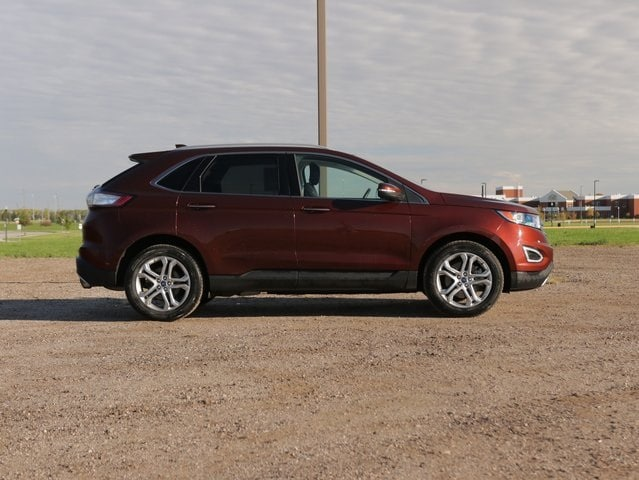 Used 2016 Ford Edge Titanium with VIN 2FMPK4K81GBB43871 for sale in Marshall, Minnesota