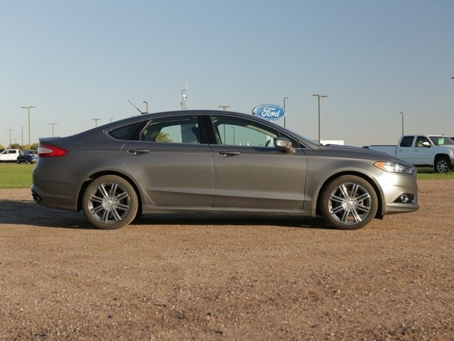 Used 2014 Ford Fusion Titanium with VIN 3FA6P0K99ER305270 for sale in Marshall, Minnesota
