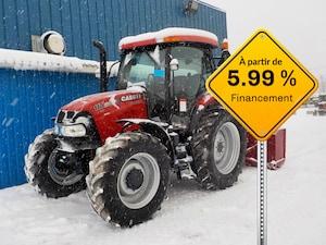 2014 Case IH MAXXUM 110 Tracteur souffleur .