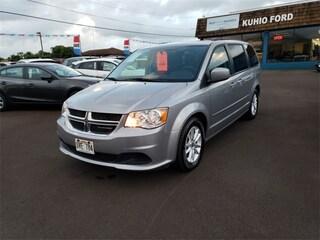 used mazda 2016 Dodge Grand Caravan SXT Minivan/Van 2C4RDGCG9GR180446 princeville