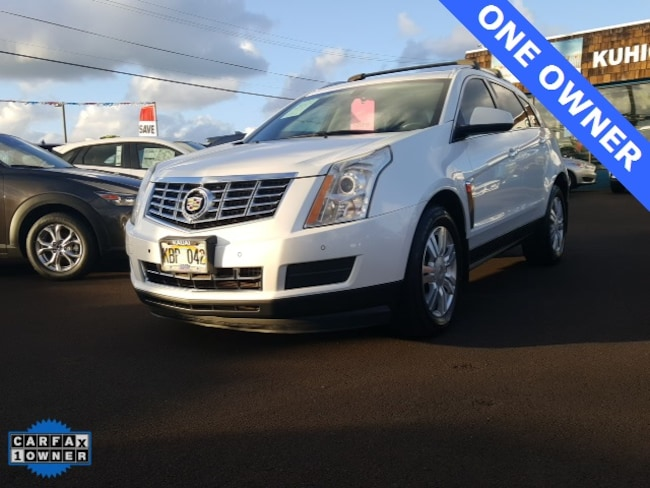 Used 2013 Cadillac Srx For Sale At Kuhio Mazda Vin 3gyfnce3xds645988