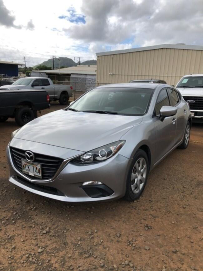 mazda 2015 Mazda Mazda3 i Sport Hatchback princeville