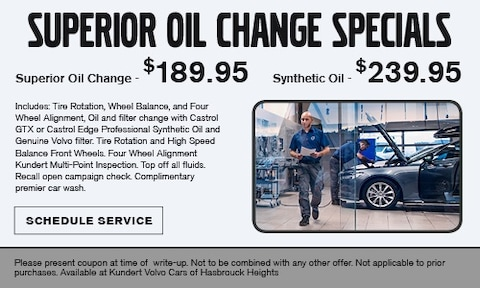 Superior Oil Change Special