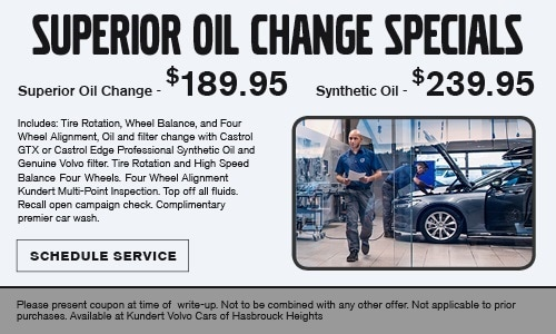 Service Specials Volvo Dealership New Jersey Kundert