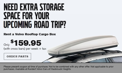 Rooftop Cargo Box