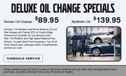 Deluxe Oil Change