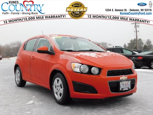 Used 2013 Chevrolet Sonic For Sale At Kunes Country Lincoln Of