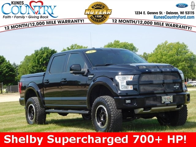 2016 Ford F-150 Shelby Supercharged 700+ HP Truck
