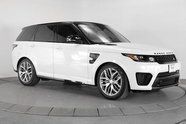Land Rover For Sale Near Me >> Used 2017 Land Rover Range Rover Sport 5 0l V8 Supercharged Svr Suv