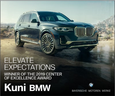 Kuni BMW is a 2019 BMW Center of Excellence Winner