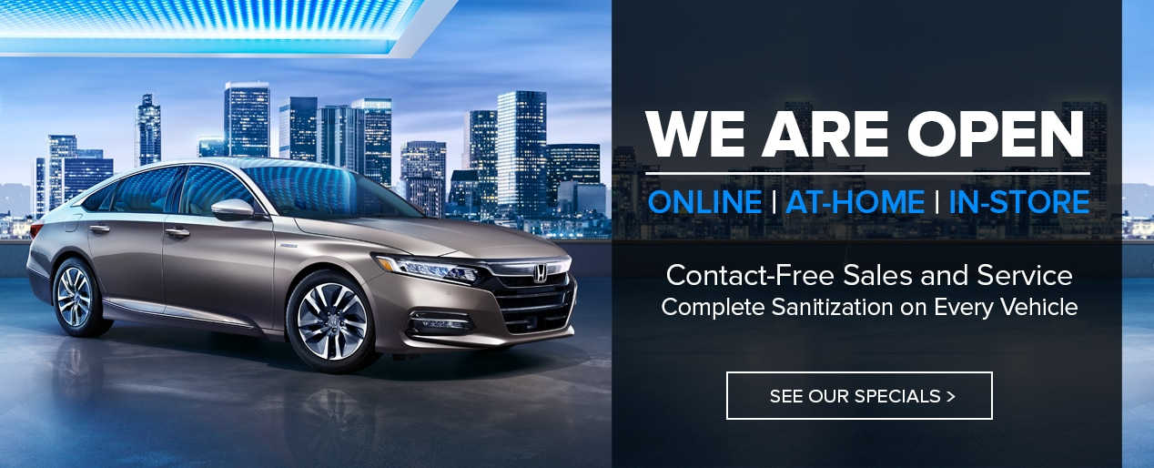 Honda Contact-Free Sales & Service in Centennial CO
