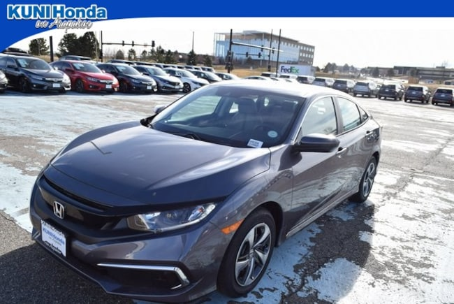 New 2019 Honda Civic LX Sedan in Centennial, CO