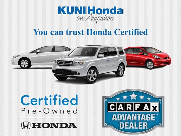 About Certified Honda Cars Near Centennial Denver Co Kuni Honda