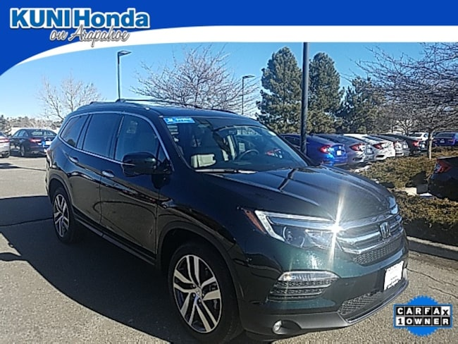 Certified Pre-Owned 2017 Honda Pilot Touring AWD SUV in Centennial, CO
