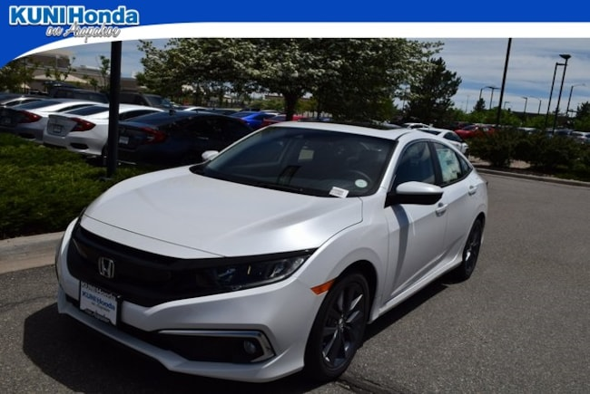 New 2019 Honda Civic EX Sedan in Centennial, CO