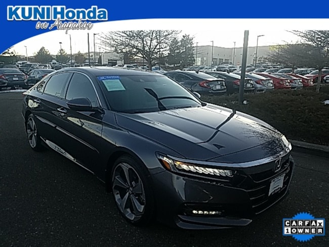 Certified Pre-Owned 2018 Honda Accord Touring 2.0T Sedan in Centennial, CO
