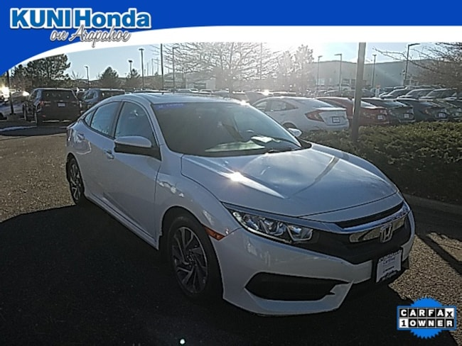 Certified Pre-Owned 2017 Honda Civic EX Sedan in Centennial, CO