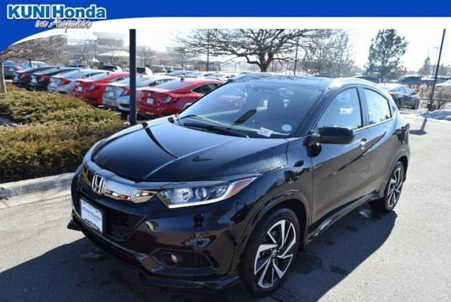 New 2019 Honda HR-V Sport AWD SUV in Centennial, CO