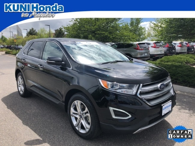 Used 2018 Ford Edge Titanium SUV in Centennial, CO