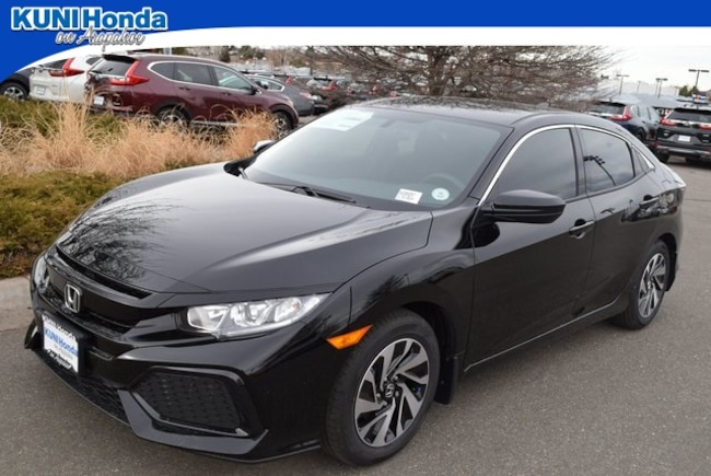 New 2018 Honda Civic LX Hatchback in Centennial, CO