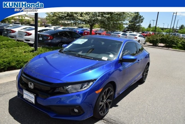 New 2019 Honda Civic Sport Coupe in Centennial, CO