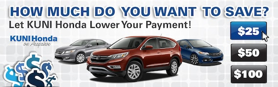 Honda Make A Payment >> Auto Financing Options Lower Car Payment Near Denver
