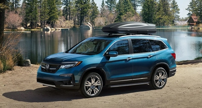 Review the trim levels on the 2020 Honda Pilot in Centennial CO