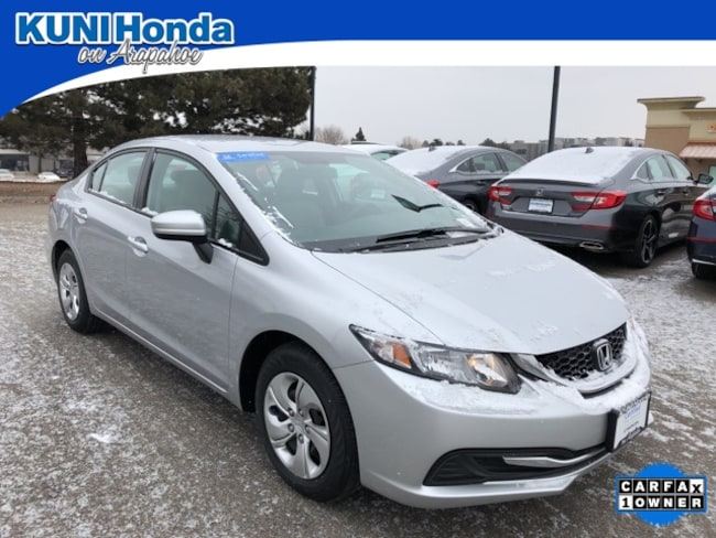 Used 2015 Honda Civic LX Sedan in Centennial, CO