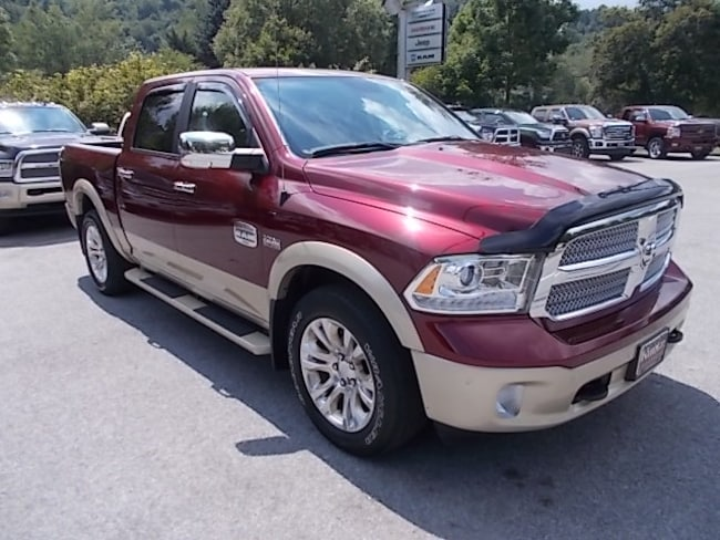 Used 2016 Ram 1500 Longhorn Crew Cab 4x4 Truck Crew Cab 1C6RR7PT7GS323036 for sale in Mahaffey, PA