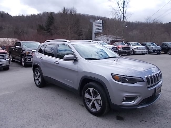 Used 2019 Jeep Cherokee Limited 4x4 SUV 1C4PJMDN3KD194348 for sale in Mahaffey, PA