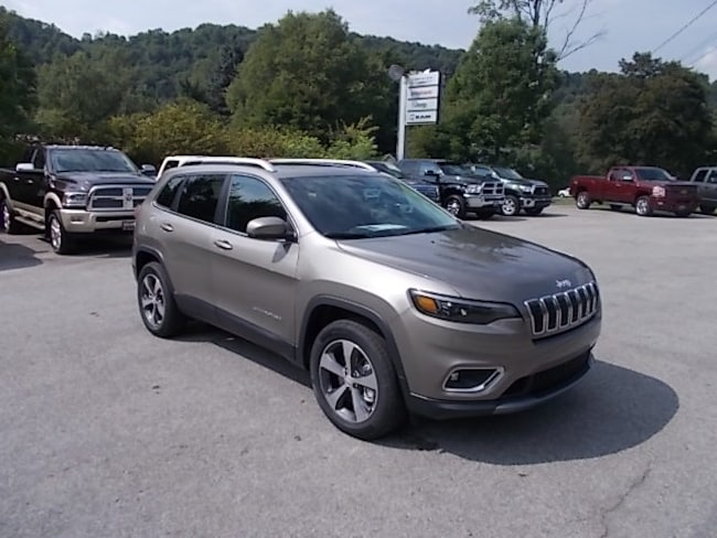 New 2019 Jeep Cherokee Limited 4x4 SUV for sale in Mahaffey, PA