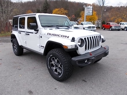 Featured New 2021 Jeep Wrangler Unlimited Rubicon 4x4 SUV for Sale in Mahaffey, PA