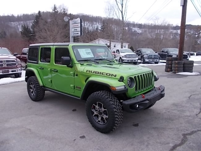 New 2019 Jeep Wrangler Unlimited Rubicon 4x4 SUV for sale in Mahaffey, PA
