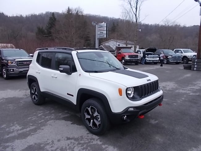 New 2019 Jeep Renegade Trailhawk 4x4 SUV for sale in Mahaffey, PA
