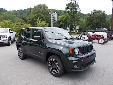 Featured New 2021 Jeep Renegade Jeepster 4x4 SUV for Sale in Mahaffey, PA