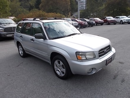 Featured Used 2004 Subaru Forester 2.5XS AWD SUV JF1SG65614H751948 for Sale in Mahaffey, PA