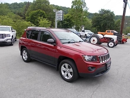 Featured Used 2014 Jeep Compass Sport 4x4 SUV 1C4NJDBB0ED800113 for Sale in Mahaffey, PA