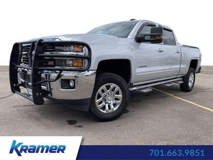 Featured Used 2015 Chevrolet Silverado 2500HD Built After Aug 14 LT 4WD Crew Cab 153.7 LT for Sale near Bismarck, ND