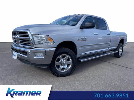 Featured Used 2018 Ram 2500 Big Horn Big Horn 4x4 Crew Cab 8 Box for Sale near Bismarck, ND