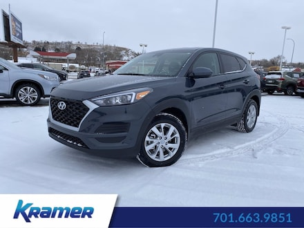 Featured Used 2019 Hyundai Tucson SE SUV for Sale near Bismarck, ND