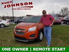 Used 2016 Chevrolet Trax LT SUV for sale in DuBois, PA at Kurt Johnson Auto Sales