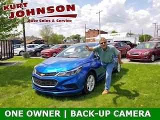 Used 2017 Chevrolet Cruze LT Auto Sedan 1G1BE5SM8H7171095 for sale in DuBois, PA at Kurt Johnson Auto Sales