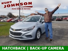 Used 2017 Chevrolet Cruze LT Auto Hatchback 3G1BE6SM5HS605836 for sale in DuBois, PA at Kurt Johnson Auto Sales