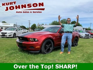 Used 2012 Ford Mustang Coupe 1ZVBP8AM8C5233651 for sale in DuBois, PA at Kurt Johnson Auto Sales