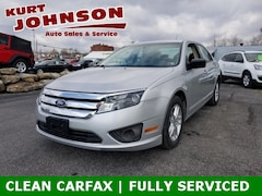 Used 2010 Ford Fusion S Sedan for Sale in DuBois, PA at Kurt Johnson Auto Sales
