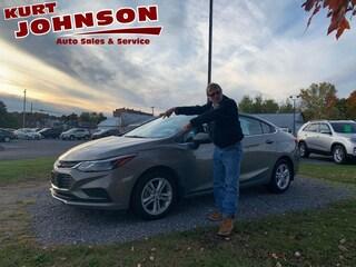 Used 2017 Chevrolet Cruze LT Auto Sedan 1G1BE5SM3H7127568 for sale in DuBois, PA at Kurt Johnson Auto Sales