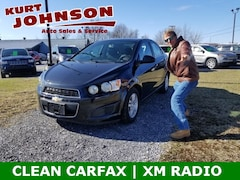 Used 2015 Chevrolet Sonic LT Auto Sedan for Sale in DuBois, PA at Kurt Johnson Auto Sales