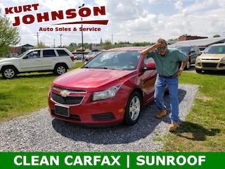Used 2014 Chevrolet Cruze Sedan 1G1PC5SB9E7234369 for sale in DuBois, PA at Kurt Johnson Auto Sales