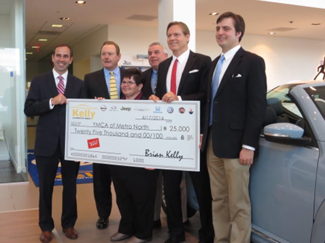 Kelly Nissan Lynnfield >> Local YMCA Organizations and Kelly Auto Join Efforts To