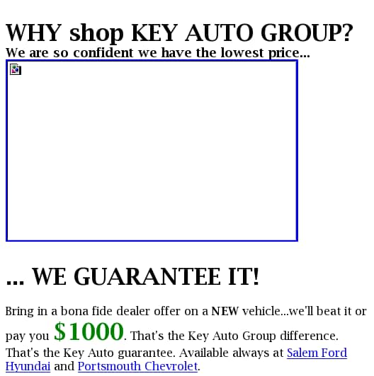 Key Auto Group >> Specials On New And Used Cars Trucks Vans Suvs Parts And